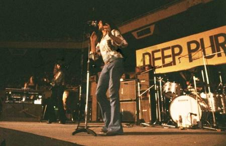 Deep Purple on stage Japan 1972