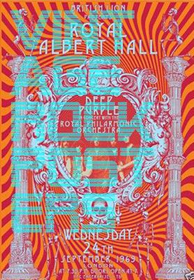 Deep Purple fake tour poster