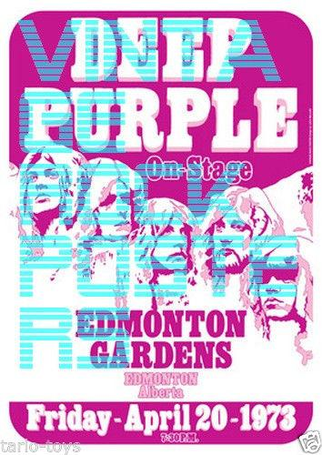 Deep Purple fake tour poster