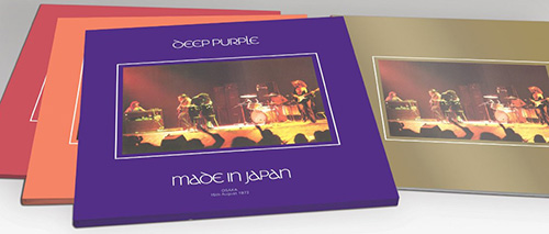 Deep Purple - Made In Japan - Israeli sleeve