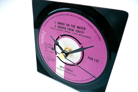 smoke on the water as a clock