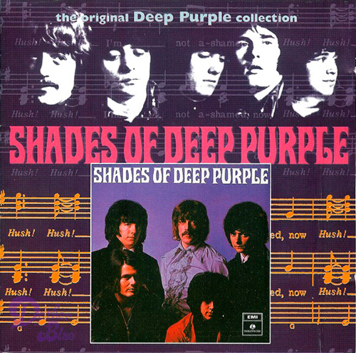 Shades Of Deep Purple Cd Darker Than Blue