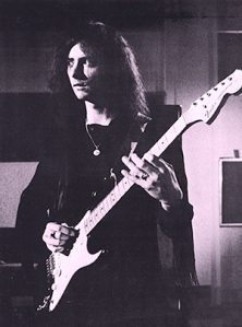 Ritchie Blackmore in De Lane Lea studios