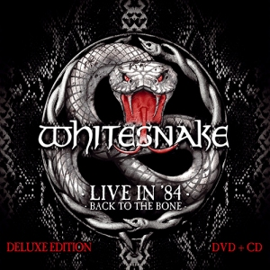 Whitesnake Live In 84 sleeve