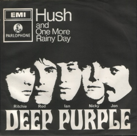 Hush UK picture sleeve Deep Purple