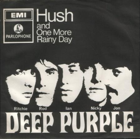 Hush UK picture sleeve Deep Purple
