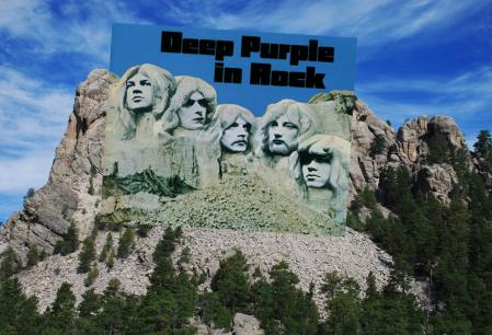 Deep Purple In Rock sleeve match