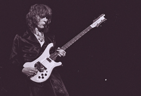 Chris Squire, Manchester Palace Theatre, 1975