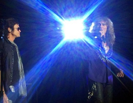 Glenn Hughes and Coverdale