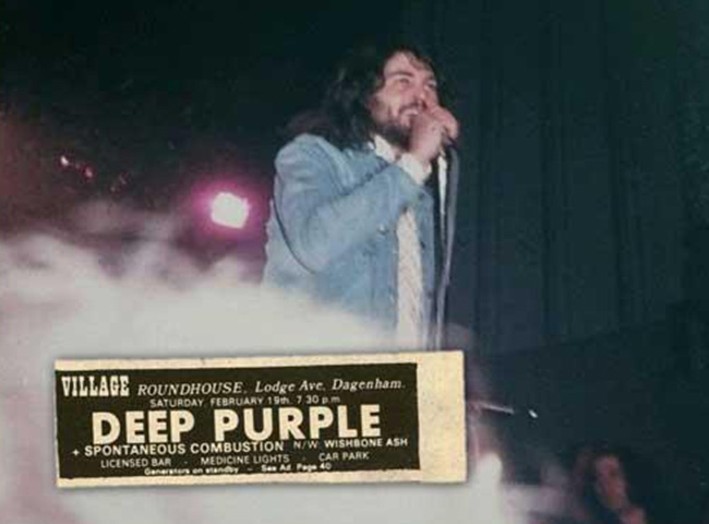 Dagenham Deep Purple 1972