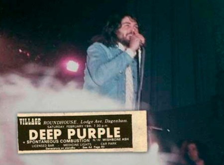 Dagenham Deep Purple 1972