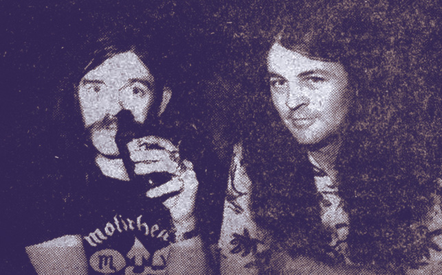 Lemmy and Ian Gillan