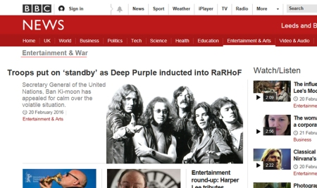 Deep Purple rock and roll hall of Fame