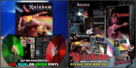 Rainbow Down To Earth tour 1979 CD