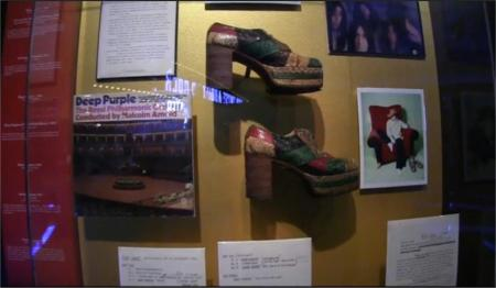 Glenn Hughes' shoes