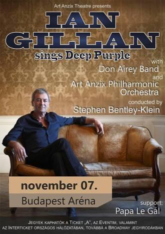 Ian Gillan sings Deep Purple