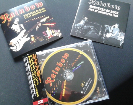 Rainbow Donington 1980 Japan CD