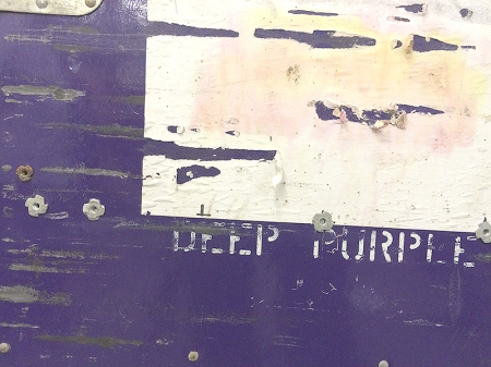 Deep Purple tour case