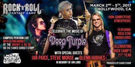 Ian Paice Glenn Hughes Rock n Roll Fantasy camp