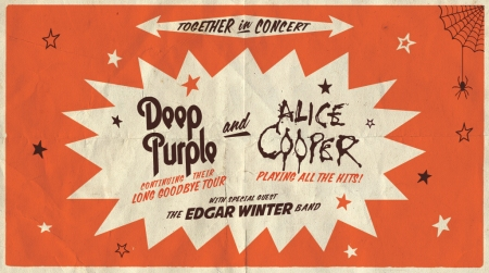 Deep Purple Alice Cooper 2017 US tour