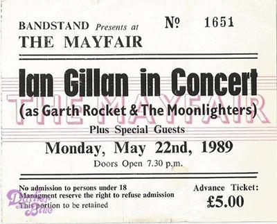 Ian Gillan Garth Rocket