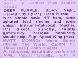 Black Night contemporary press review