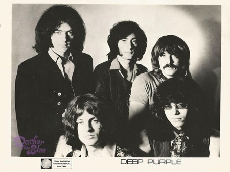 Deep Purple 1969 promo photograph