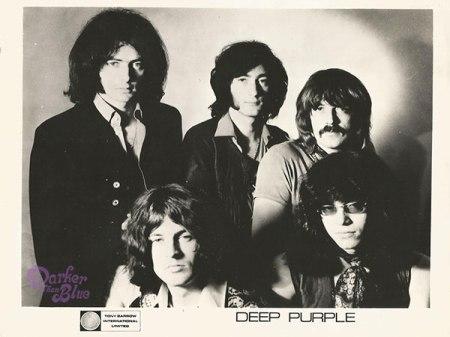 Deep Purple 1969 promo photograph