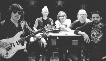 Ritchie Blackmore Rainbow rehearsals 2017
