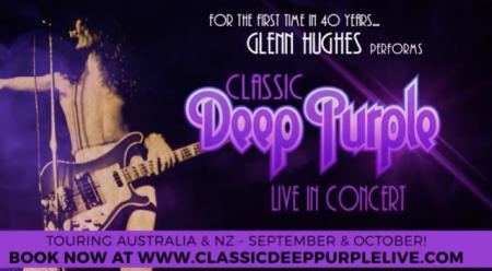 Glenn Hughes Deep Purple show Australia 2017