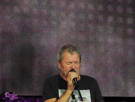 Ian Gillan, Manchester Arena, November 2017. Photo Vince Chong