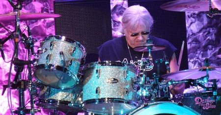 Ian Paice, Manchester Arena, November 2017. Photo Vince Chong