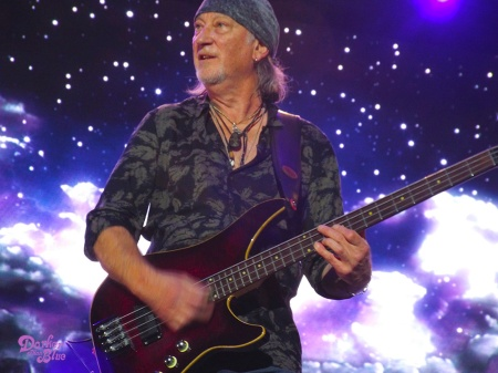 Roger Glover, Manchester Arena, November 2017. Photo Vince Chong