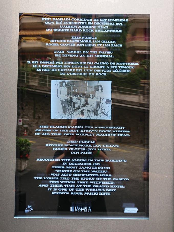 Montreux Plaque 2018