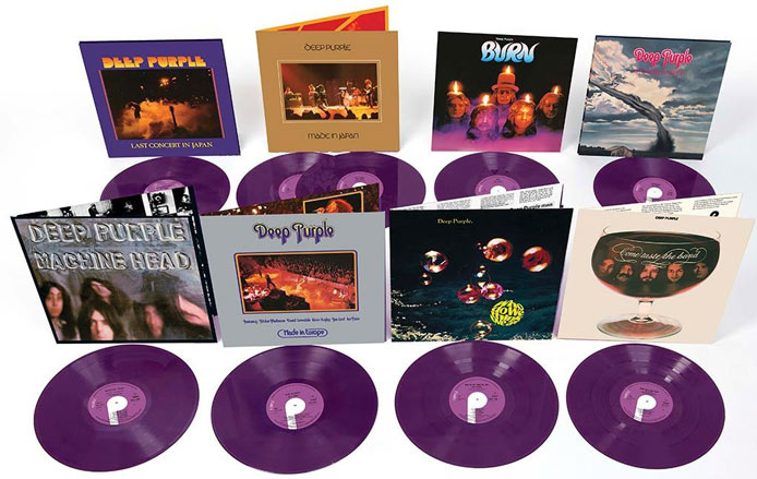 Deep Purple - vintl reissues