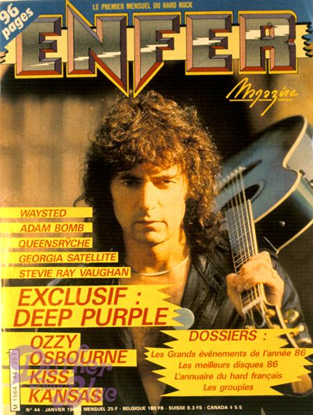 enfer 1987 cover blackmore