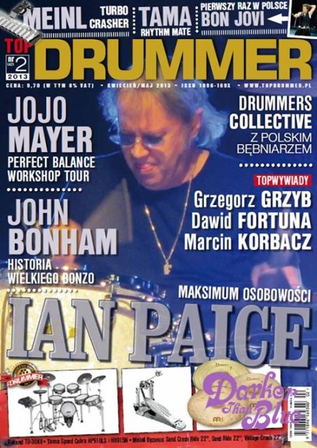 top drummer ian paice poland