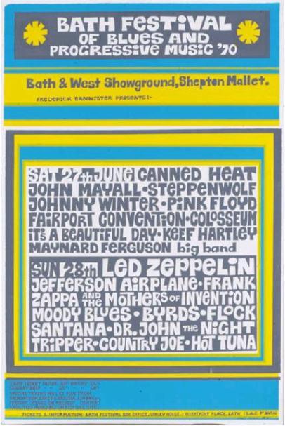 Bath Festival 1970