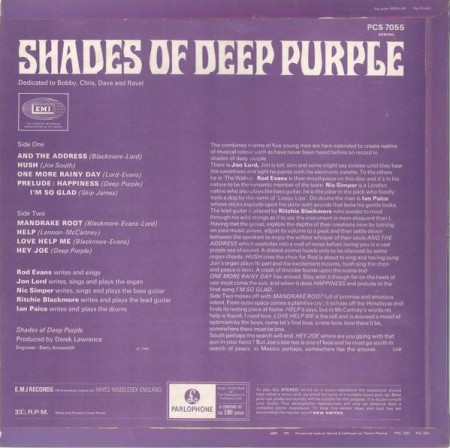 Derek Lawrence Shades of Deep Purple