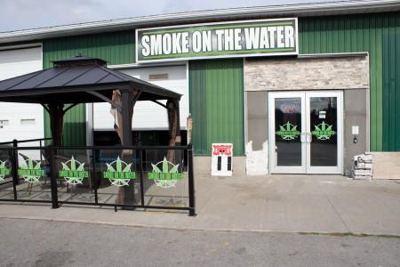 Smoke cannabis shop